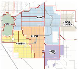 Medical marijuana zones in the East Valley