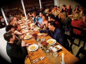 Underground dinner party with Culinary Mischief