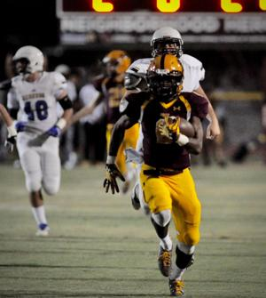 <p>Mountain Pointe's running attack is expected to go through several running backs this year including Gary Bragg.</p>