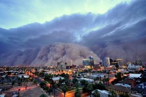 Phoenix dust storm