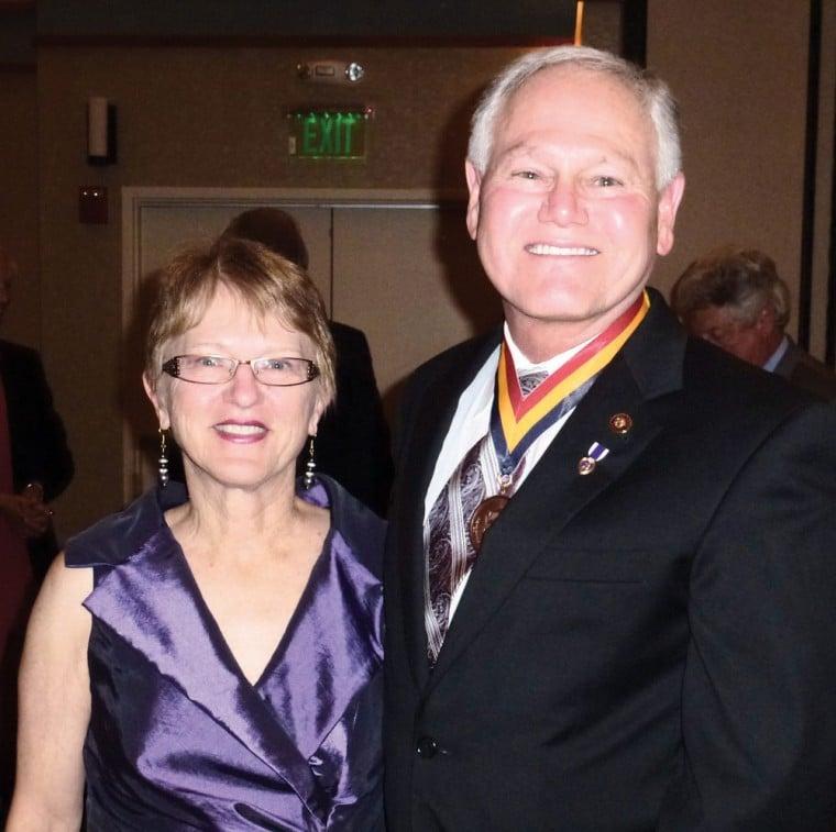 Barbara Hatch with Rick Romley