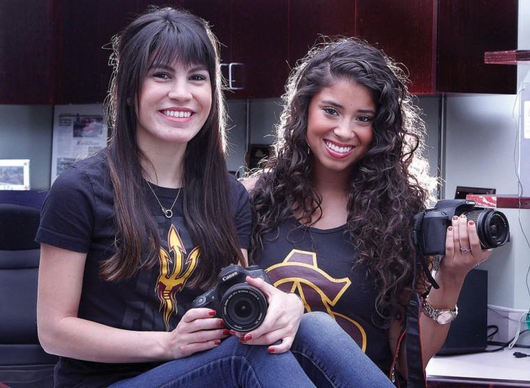 Tiana Chavez and Lisa-Charisse Blanco