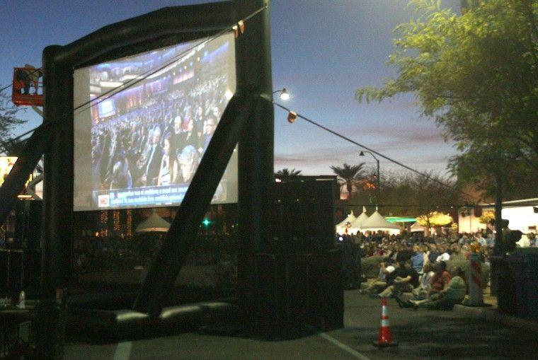 Outside Arizona Republican Presidential Debate