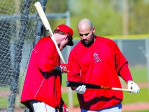 Albert Pujols, Josh Hamilton