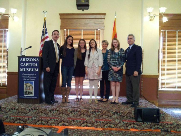 Payne Junior High School award winners