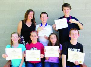 Summit School of Ahwatukee math students score in the top 10%