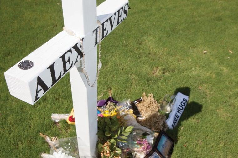 Alex Teves memorial