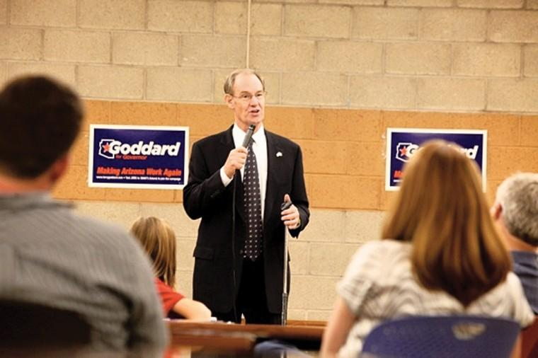 Terry Goddard at Pecos Community Center