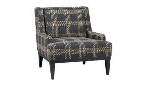 Retro plaid Donegal chair