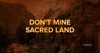 Say NO to mining sacred Native American land in Arizona