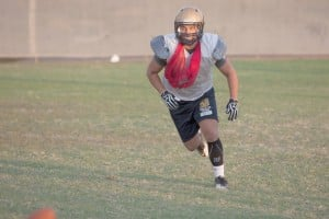 Zach Gonzalez steps up in DV Football