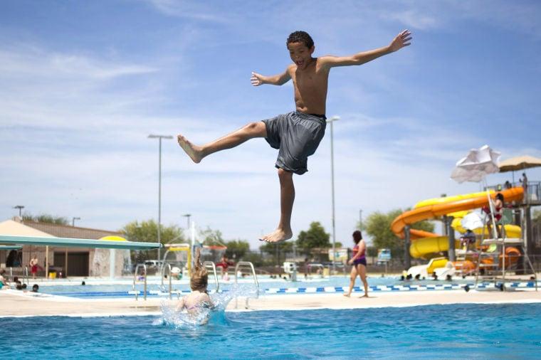 Pecos Park Swimming Pool