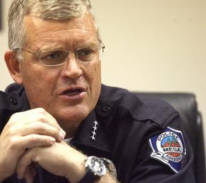 Mesa Police Chief Frank Milstead