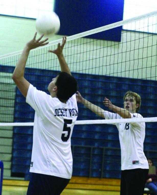 Desert Vista volleyball Scott Gavin