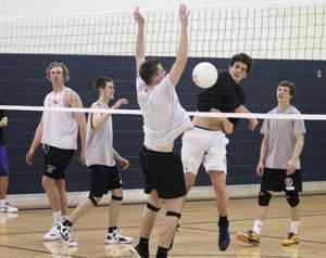 Desert Vista boys volleyball