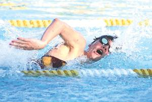 Veteran, rookie head for state swim finals