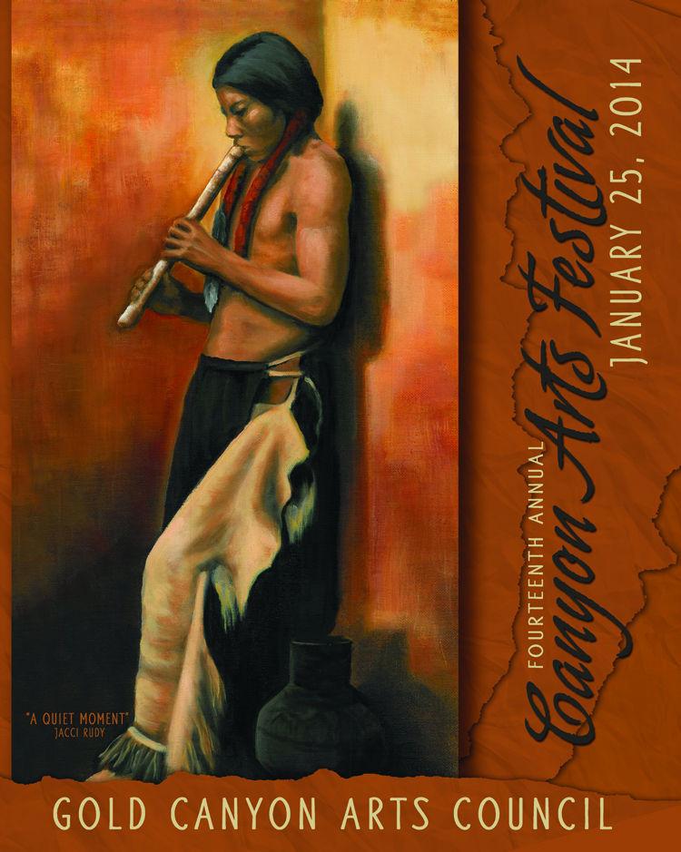 Canyon Arts Festival 2014 Poster