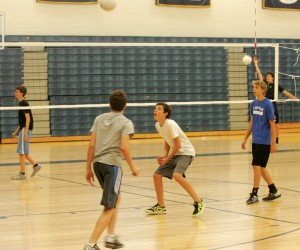 Boys volleyball