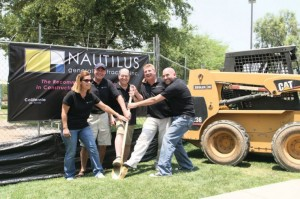 Foothills Club West groundbreaking