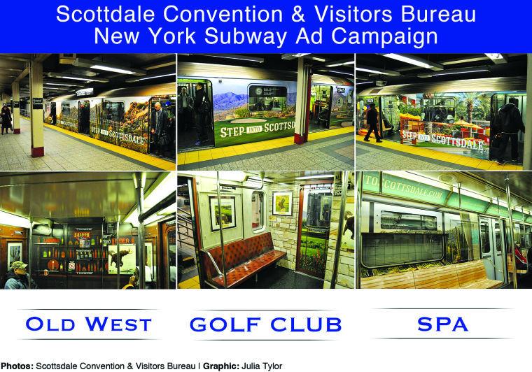 Scottsdale subway ad campaign