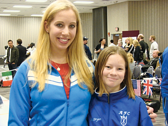 McBryan places fifth in national competition