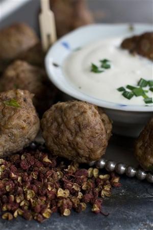 Sichuan Pepper Meatballs