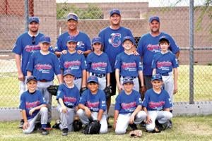 Pony League Mustang Division Cubs end season undefeated