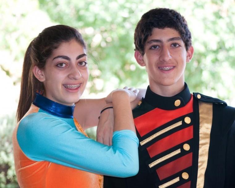 Malissa Butwin, 16; Daniel Butwin, 14