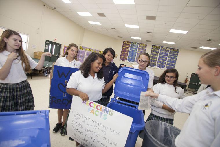 Recycling Bowl at SJB