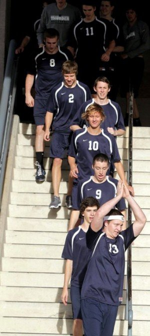 Desert Vista boys volleyball