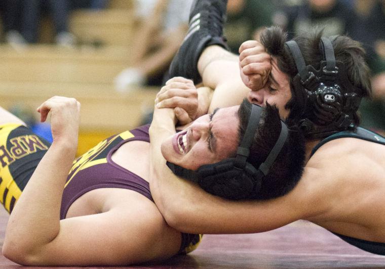 Wrestling: MP vs Basha