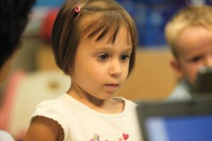 Preschoolers Learn Life and Computer Skills
