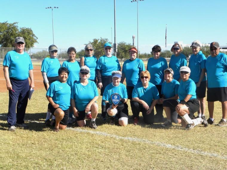Local women's senior softball team wins tournament