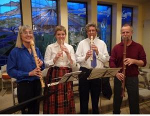 """The """"Recorder Quartet"""