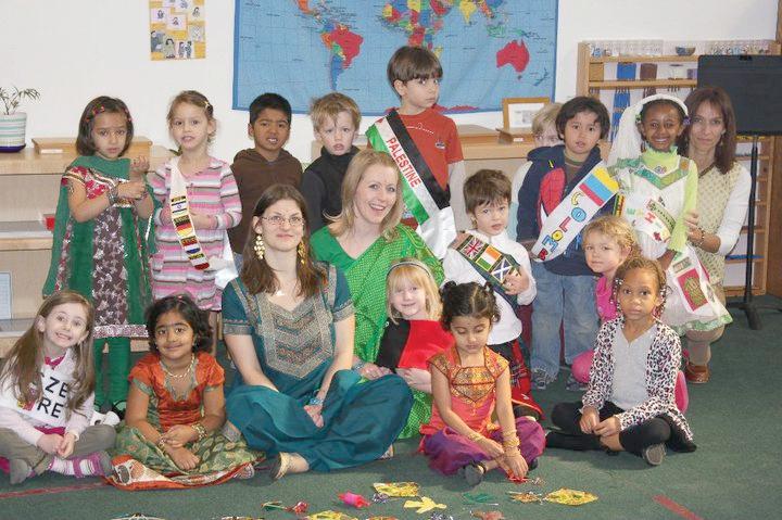 Desert Garden Montessori's multi-cultural fair