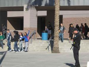 Desert Vista lock-down ends