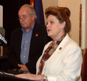 Rep. John Fillmore; Rep. Brenda Barton