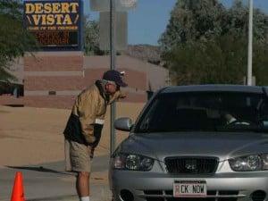 Desert Vista lock-down ends