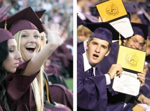 Desert Vista graduation 2011