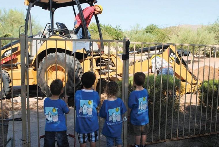 Children of Hope receives new sprinkler system