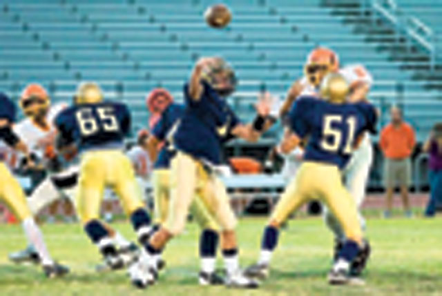 Football: DV freshman football 1 game away from perfect season