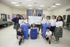 Recycling Bowl at SJB