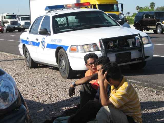 Traffic stop reveals suspected illegals