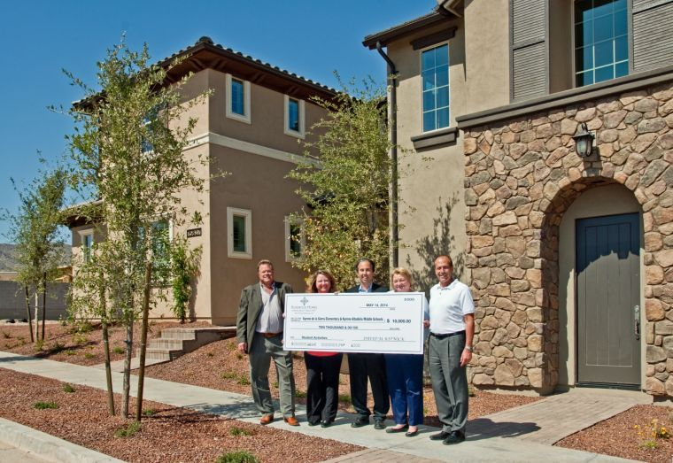 Rosewood Homes donates to Ahwatukee schools