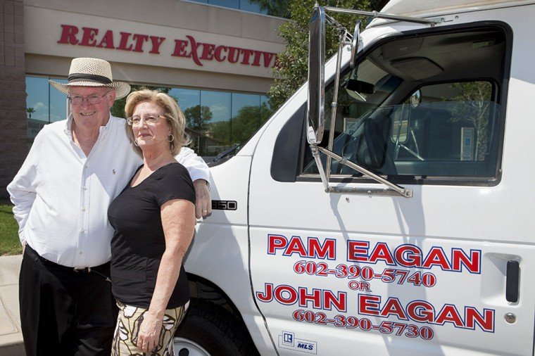 John and Pam Eagan, owners of Realty Executives