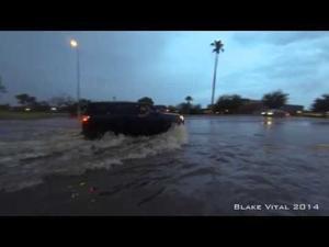 Ahwatukee Flooded Street
