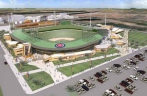 Chicago Cubs spring training facility