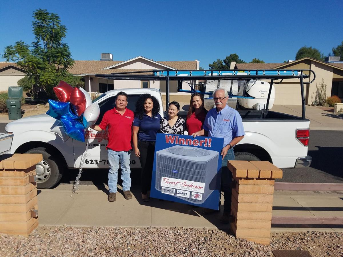 #30669B Air Force Sergeant's Ahwatukee Family Wins Free Air  Highly Rated 8769 Air Conditioning Installation Browns Plains wallpapers with 1200x900 px on helpvideos.info - Air Conditioners, Air Coolers and more