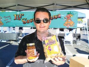 Lil' Sassy's Salsa at the Holistic Farmer's Market