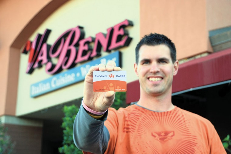 Give a little, get a lot with 'Phoenix Cares' card